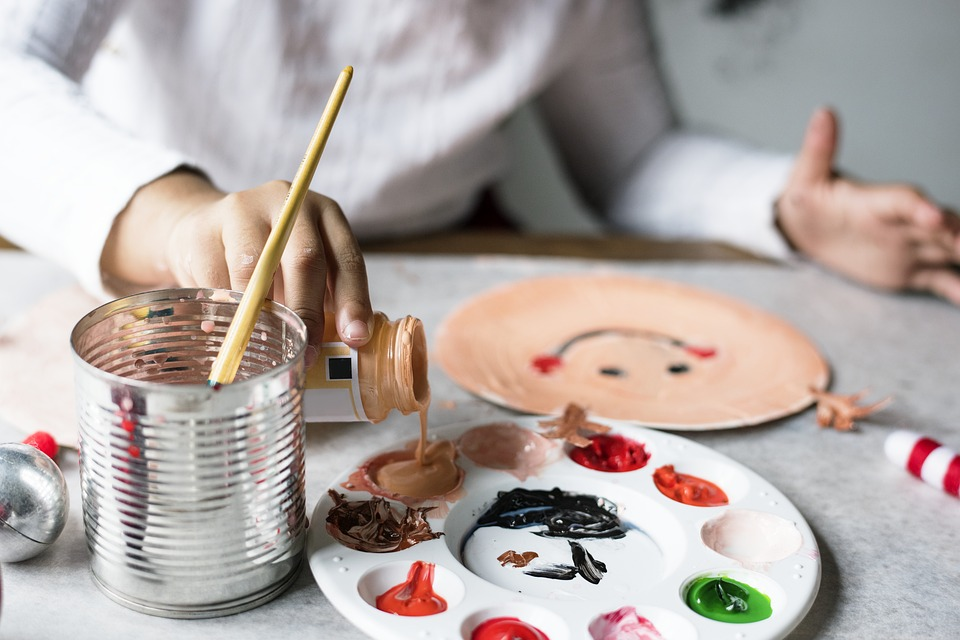 Holiday crafts for tots