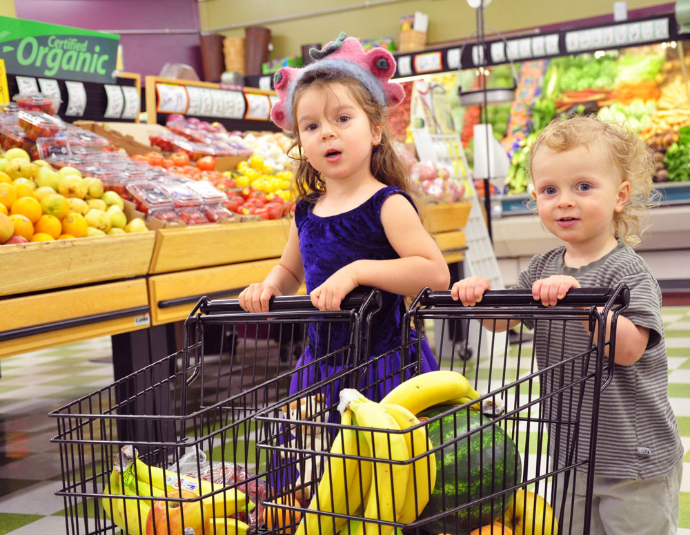 Commandments of shopping with kids