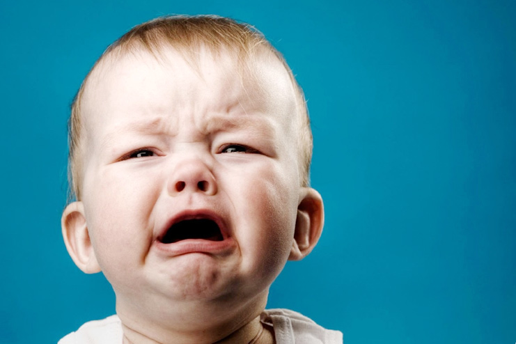 8 totally normal reasons why babies cry