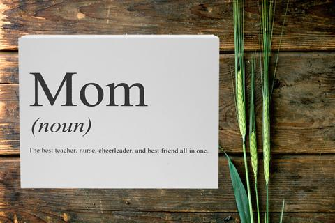 The mom vocabulary, because words are confusing, and we're here to help